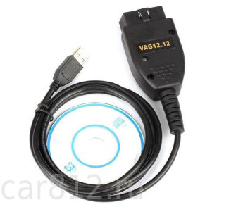 Адаптер VAG-COM HEX+CAN 12.12 ENG (VCDS)