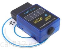 OBDII адаптер ELM327 Bluetooth V1.5 Mini